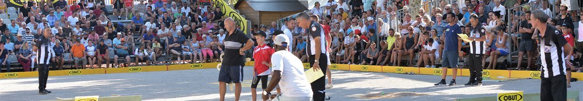 4° Festival international de Pétanque Millau 2019
